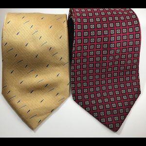 Bundle of 2 Neck Ties